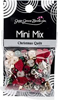 Jesse James Buttons Jesse James Bead Mini Mix Christmas Quilt Beadmini