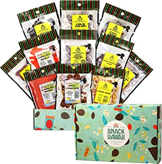Asia Trans 12 Pack Li Hing Mui Crack Seed Gift Set | Hawaiian Favorite | Sweet, Sour, & Salty Dried Asian Plum Candy