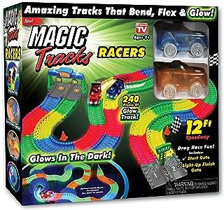 Ontel Magic Tracks Racer Set Race Car Set, Multi