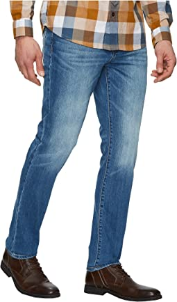 Liverpool - Slim Straight Stretch Denim in Bryson Vintage Medium