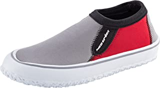 NeoSport Men's Water & Deck Shoes, Red, 12