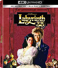 The 35th Anniversary of Jim Henson's LABYRINTH Debuts on 4K Ultra HD August 17 from Sony Pictures