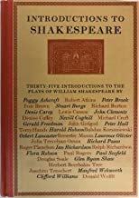 Introductions to Shakespeare: Being the Introductions to the individual plays in the Folio Society edition 1950-76