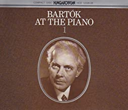 Mikrokosmos, BB 105 (excerpts): Vol. 4: No. 100. In the Style of a Folksong – Vol. 6: No. 142. From the Diary of a Fly – Vol. 6: No. 140. Free Variations