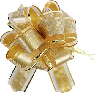 Best black and gold gift bows Reviews
