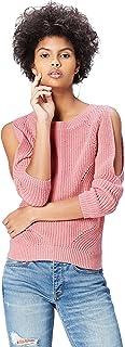Marca Amazon - find. Jersey con Hombros Descubiertos para Mujer