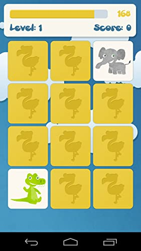 Tiere Memory-Spiel für Kinder - 5