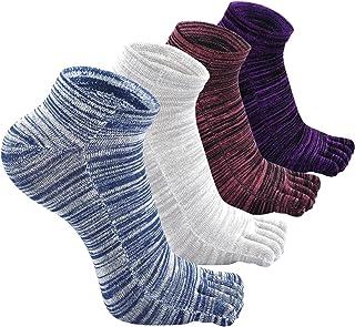 ZAKASA, Calcetines del dedo del pie Para los hombres Invisible Corte bajo Tobillo Cinco dedos Calcetines para Liner Entrenadores