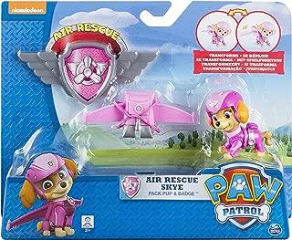 Paw Patrol, Air Rescue Skye, Pup Pack & Badge
