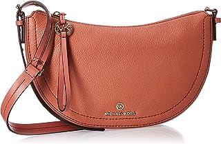 MICHAEL KORS Womens Small Messenger Bag, Sunset Peach - 30H9GCDM1L