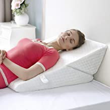 Adjustable Bed Wedge Pillow | Exclusive 7-in-1 Incline and Positioner Memory Foam Pillow..