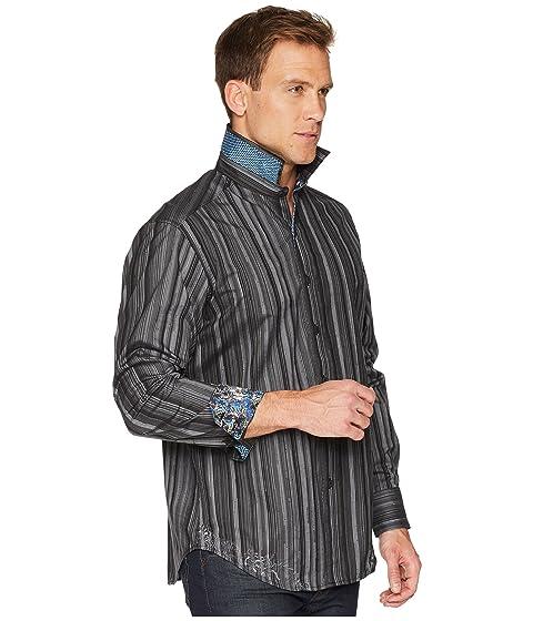 Woven Sleeve Robert Lopez Graham Shirt Long qwq670BI