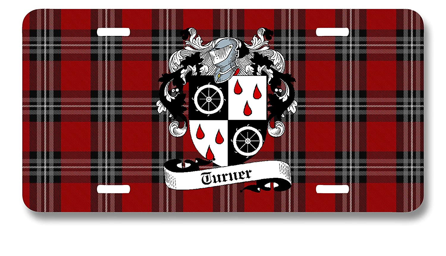 Whimsly Scottish Turner Clan License Plate Our shop most popular ...
