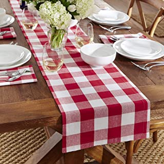 Amazon Ca Red Gingham Table Runners