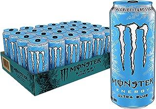 Monster Energy Ultra Blue, 16 Ounce (Pack of 24)