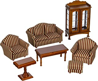 Melissa & Doug Doll-House Furniture- Living Room Set
