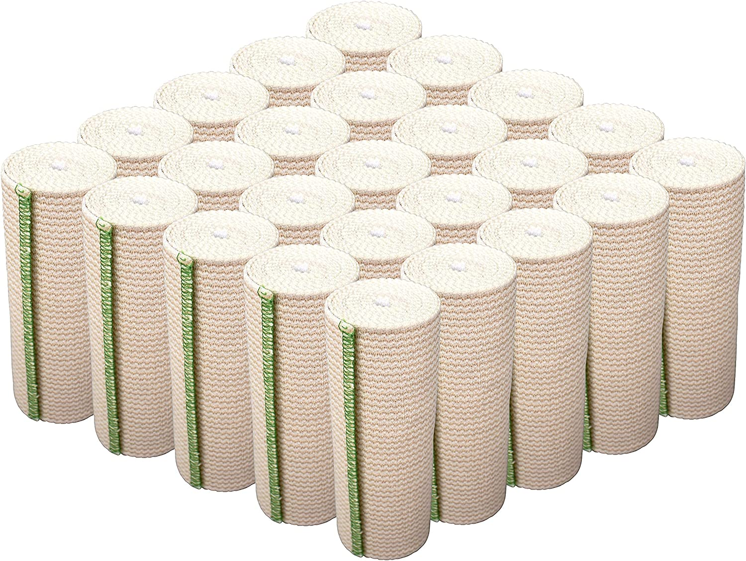 GT USA Organic Cotton Elastic Popular product Bandage Pack 40% OFF Cheap Sale Wrap 25 6