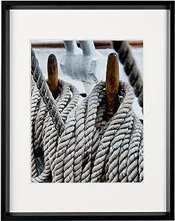 Nielsen Bainbridge Matte Black Gallery Collection Frame, 8 inches x 10 inches, 4 Piece