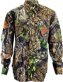 Scent Blocker 7 Button Cotton Shirt, Odor Control, Chest Pockets