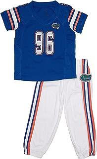 FAST ASLEEP Florida Gators Home Uniform Pajama Set New