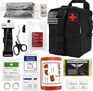 Everlit Emergency Survival Trauma Kit with Tourniquet 36