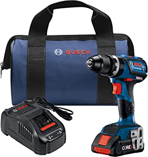 Bosch GSB18V-535CB15 18V EC Brushless Connected-Ready Compact Tough 1/2 In. Hammer Drill/Driver with (1) CORE18V 4.0 Ah Compact Battery
