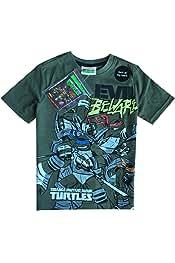 Oficial Teenage Mutant Ninja Turtles Camiseta de manga corta ...