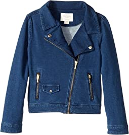 Kate Spade New York Kids - Knit Moto Jacket (Little Kids/Big Kids)