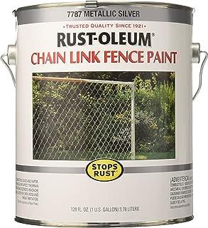 rustoleum chain link fence paint colors