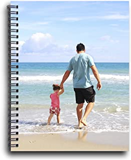 Personalized Spiral Notebook for Gift, Party, Decoration – Customize with your PHOTO or TEXT – DIY