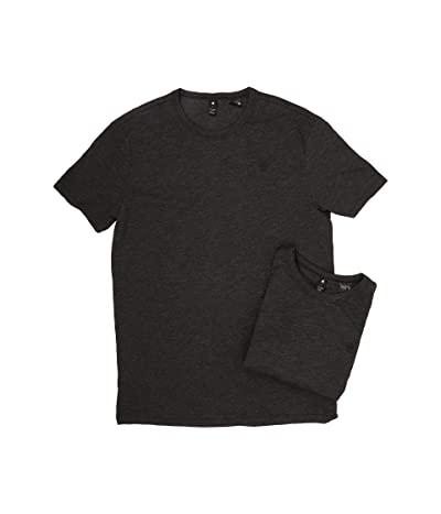 G-Star 2-Pack Base Crew Neck Short Sleeve Tee in Jisoe Jersey (Black) Men