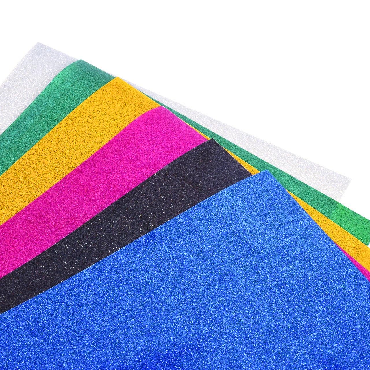 Magiin Papel Transfer para Hacer Camisetas 6 Hojas de Colores ...