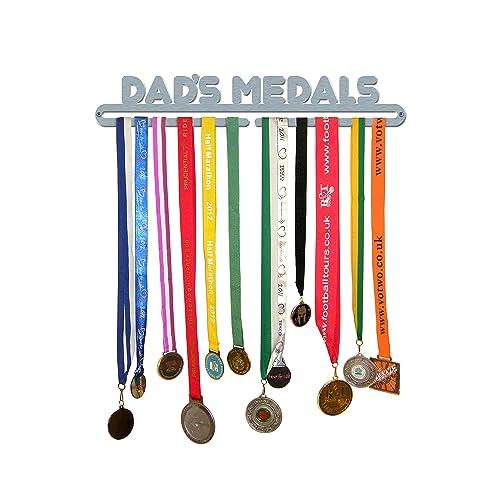 Personal Custom Text 2 Rack Metal Triathlon Marathon Running Sport Medal Hanger