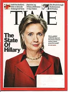 Time Magazine (November 16, 2009)