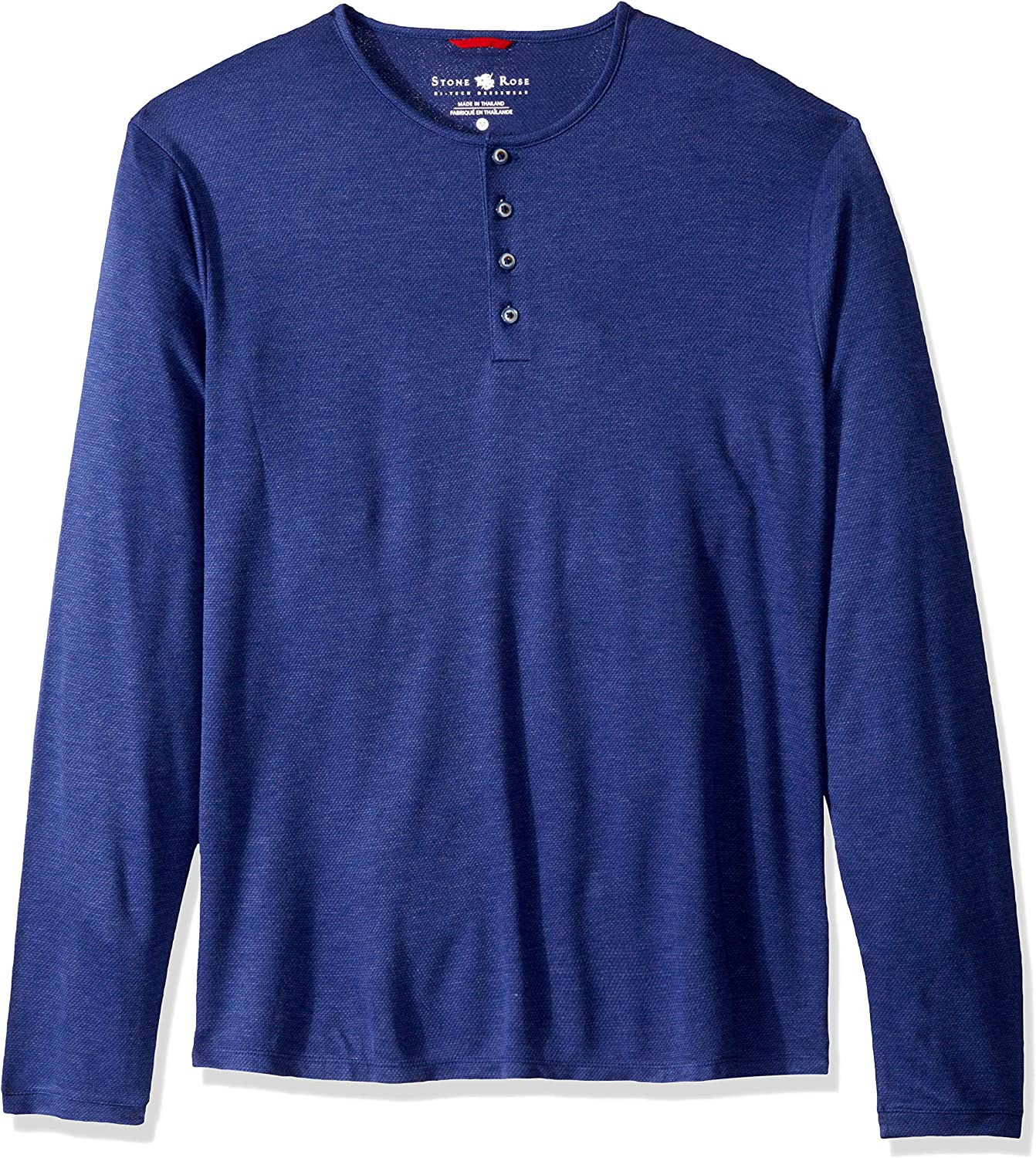 Stone Rose Men's Sales of SALE items from new works Henley Free shipping Performance