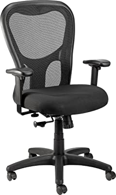 Eurotech Seating Apollo MM9500 High Back Mesh Chair, Black