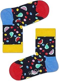 Happy Socks Unisex Baby Fruit Salad Socks, Multicolour, 7-9Y