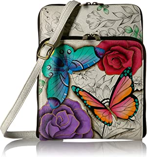 Anna by Anuschka Hand Painted Leather Women's All Round Zippered Organiser