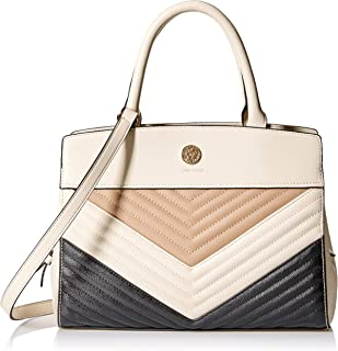 Quilted Curve Satchel