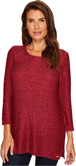FDJ French Dressing Jeans - Scoop Neck Sparkle Sweater