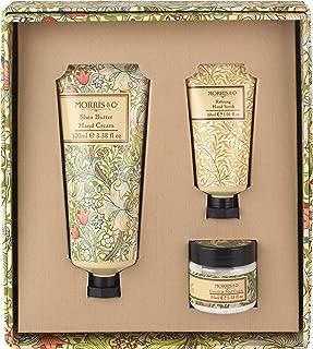Morris & Co. Golden Lily Hand Care Treats - Hand Cream, Hand Scrub and Cuticle Cream