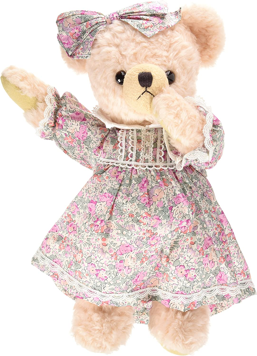 San Arrow Bears collection melody floral dress stuffed M 27cm pink