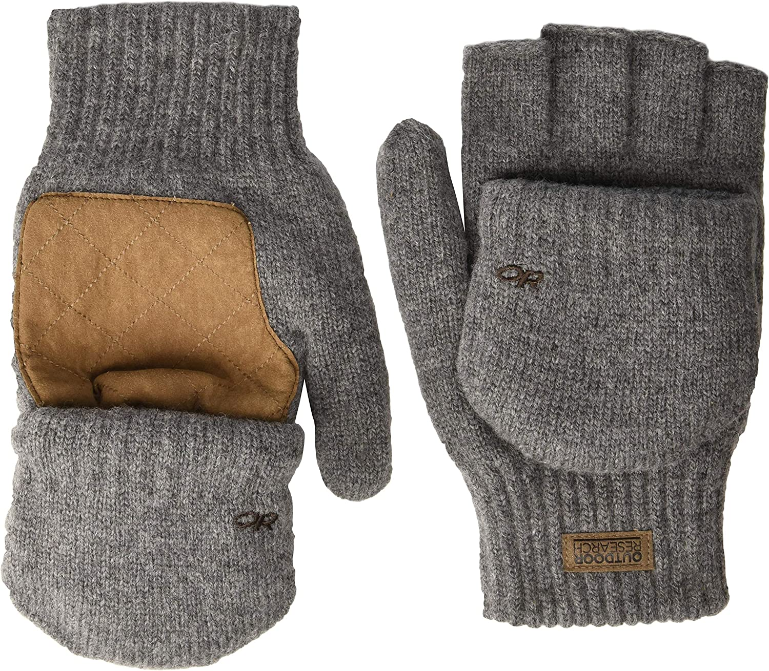 Amazon.com: Outdoor Research Men's Lost Coast Fingerless Mitts: Clothing