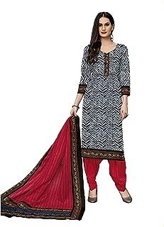 Jevi Prints Women's Cotton Straight Salwar Suit Set (SUIT_Khushi-5716)