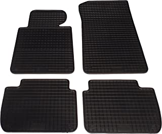 Auto Fußmatten Gummi Set 4 teilig passgenau, schwarz
