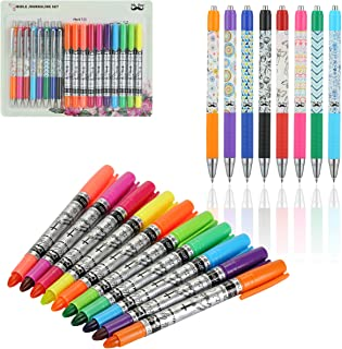Mr. Pen- Bible Journaling Kit, 18 Pack (10 Bible Gel Highlighter, 8 Bible Pens), Bible Highlighters and Pens No Bleed, Gel...