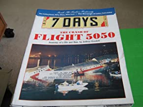 7 Days Magazine New York (The Crash of Flight 5050 , Inside The Fashion Fraternity, 11/22/89)