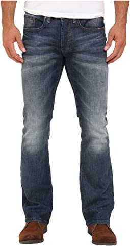 Buffalo David Bitton - King Slim Boot Sheeba Stretch Denim in Light/Blasted Wash