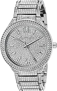 Michael Kors Women's Kerry Silver-Tone Watch MK3359