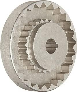 Martin 6S 3/4 Quadraflex Coupling Flange, Sintered Steel, Inch, 0.75